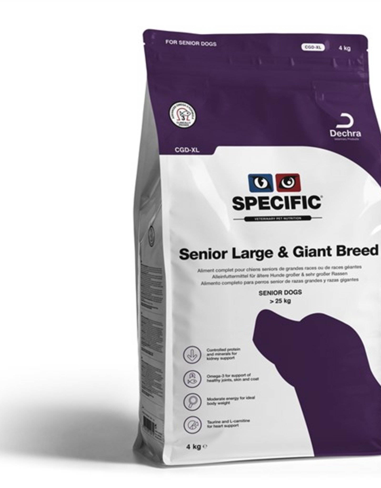 Specific Specific Cgd-xl Senior Large Giant 4kg