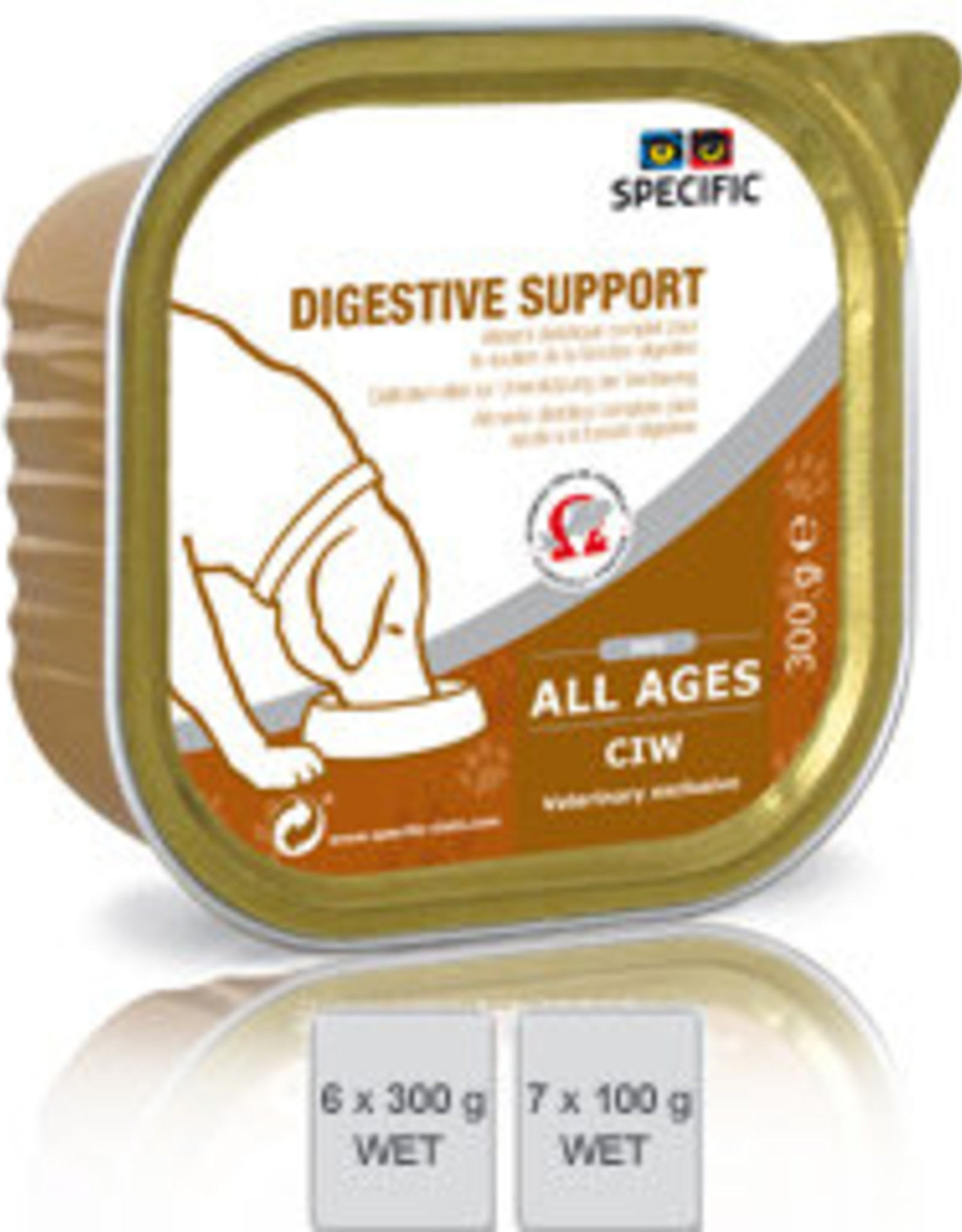 Specific Specific Ciw Digestive Support 6x300gr