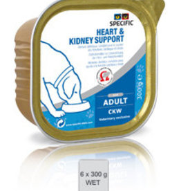 Specific Specific Ckw Heart Kidney Support 6x300gr