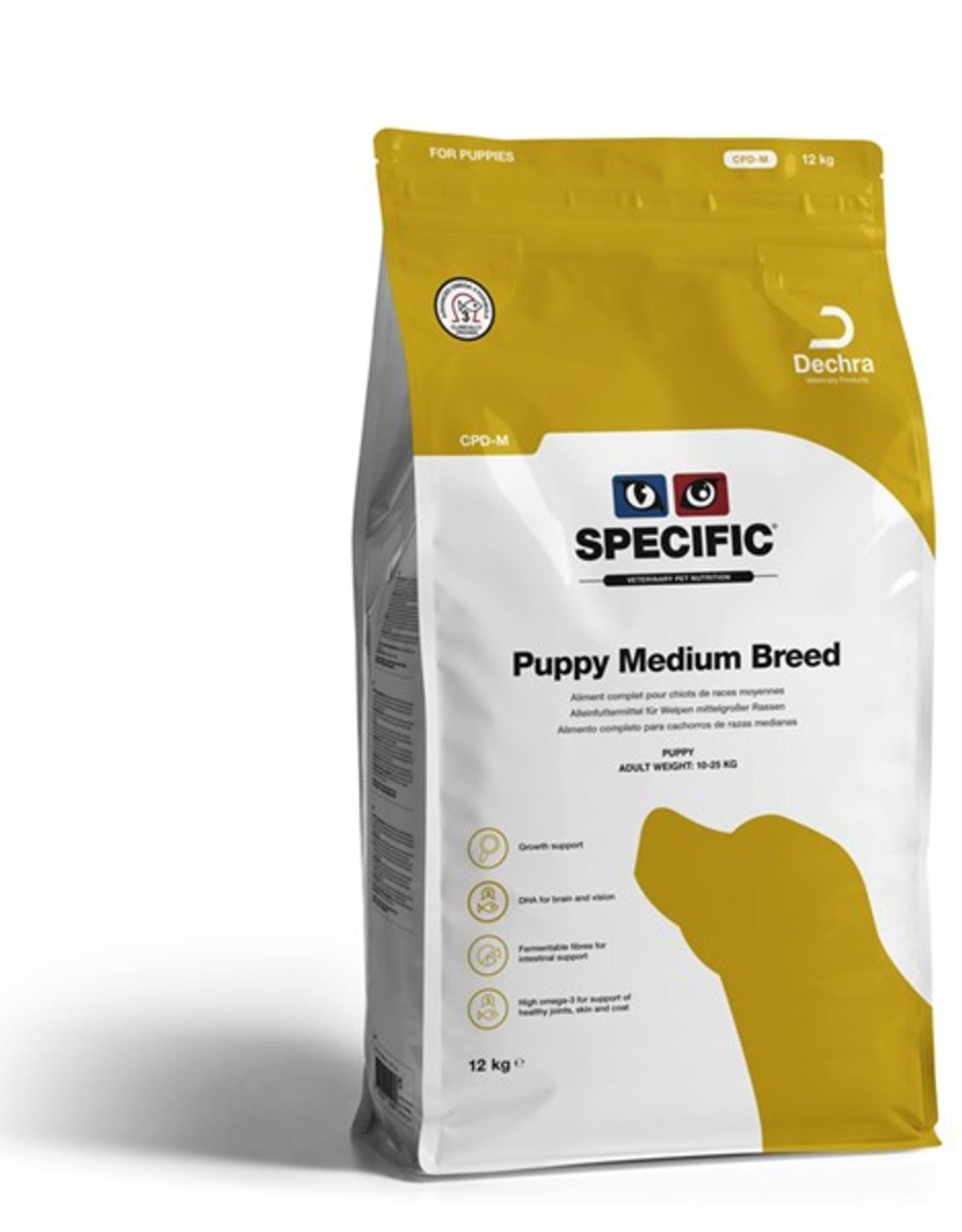 Specific Specific Cpd-m Puppy Medium 12kg