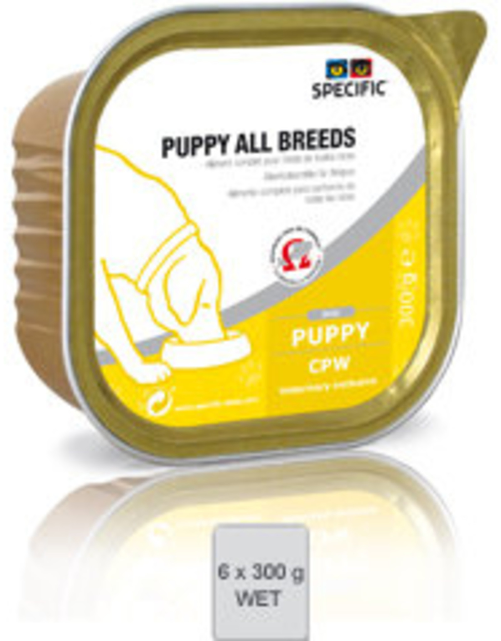 Specific Specific Cpw Puppy All Breeds 6x300gr
