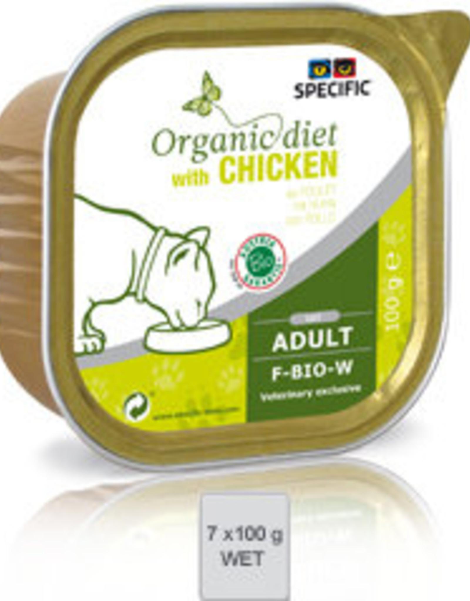 Specific Specific F-bio-w Organic Chicken 7x100gr