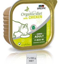 Specific Specific F-bio-w Organic Huhn 7x100gr