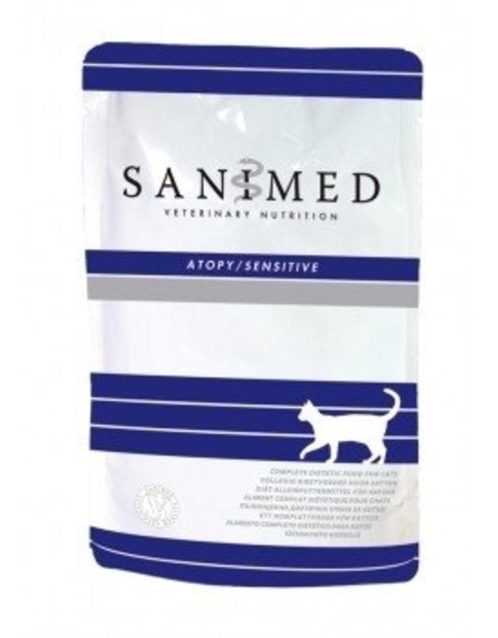 Sanimed Sanimed Atopy Sensitive Cat 12x100gr