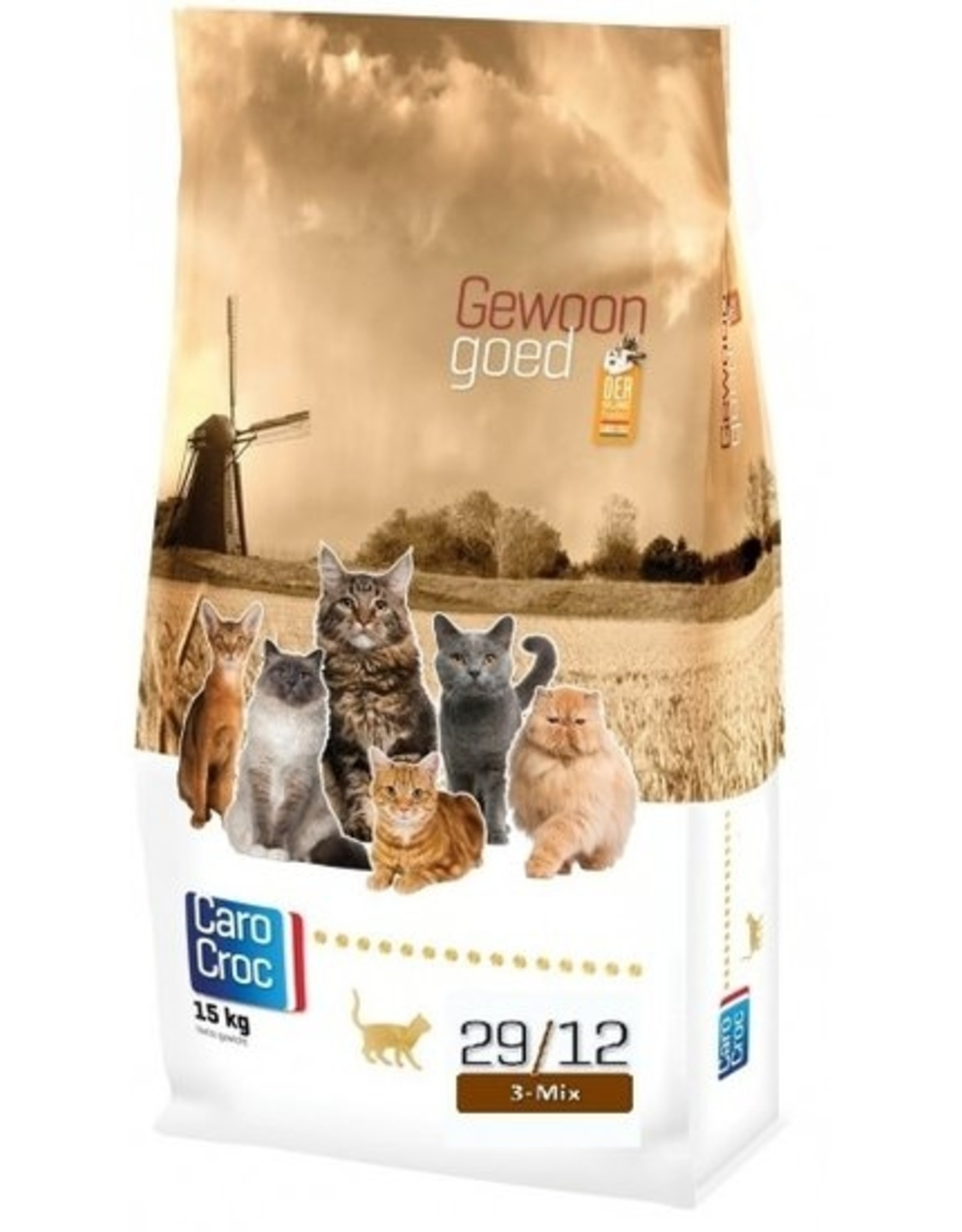 Sanimed Sanimed Carocroc 3 Mix 29/12 Feline 15kg