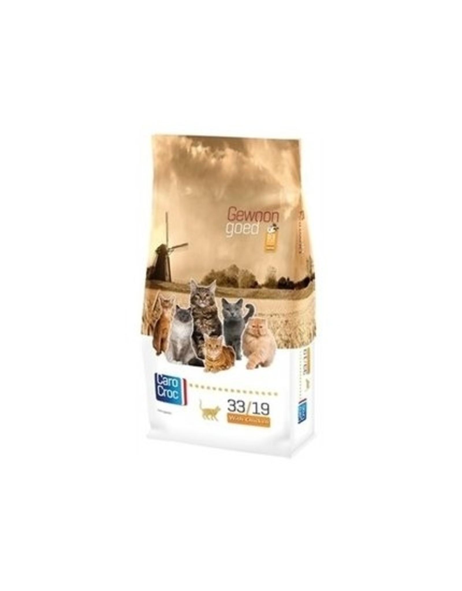 Sanimed Sanimed Carocroc Feline 33/19 Chk Riz 6x400gr