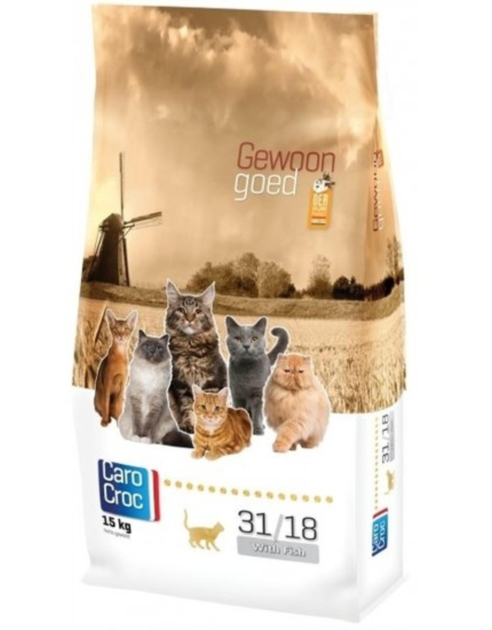 Sanimed Sanimed Carocroc Kat 31/18 Fish Rice 2kg