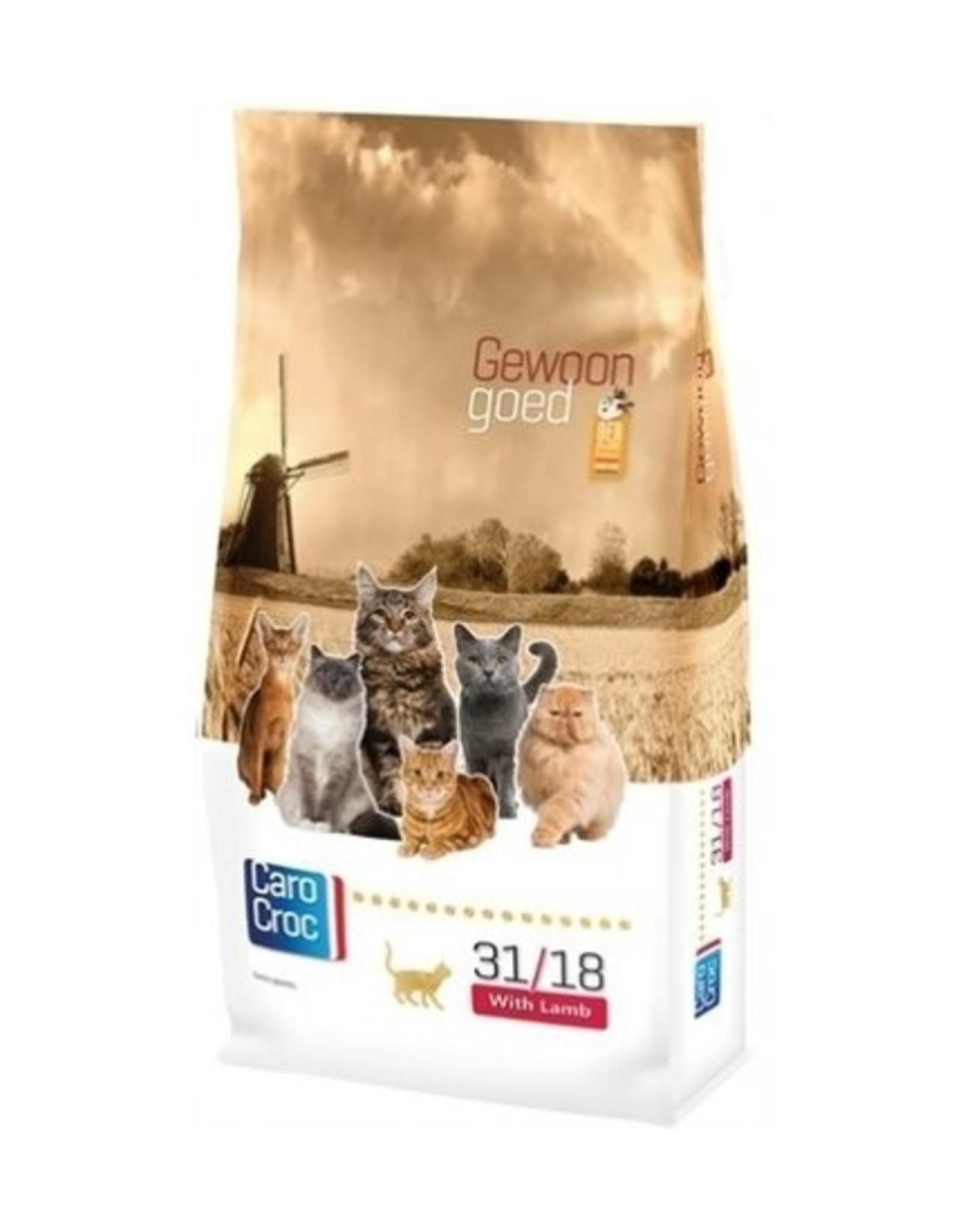 Sanimed Sanimed Carocroc Feline 31/18 Lamb Riz 15kg