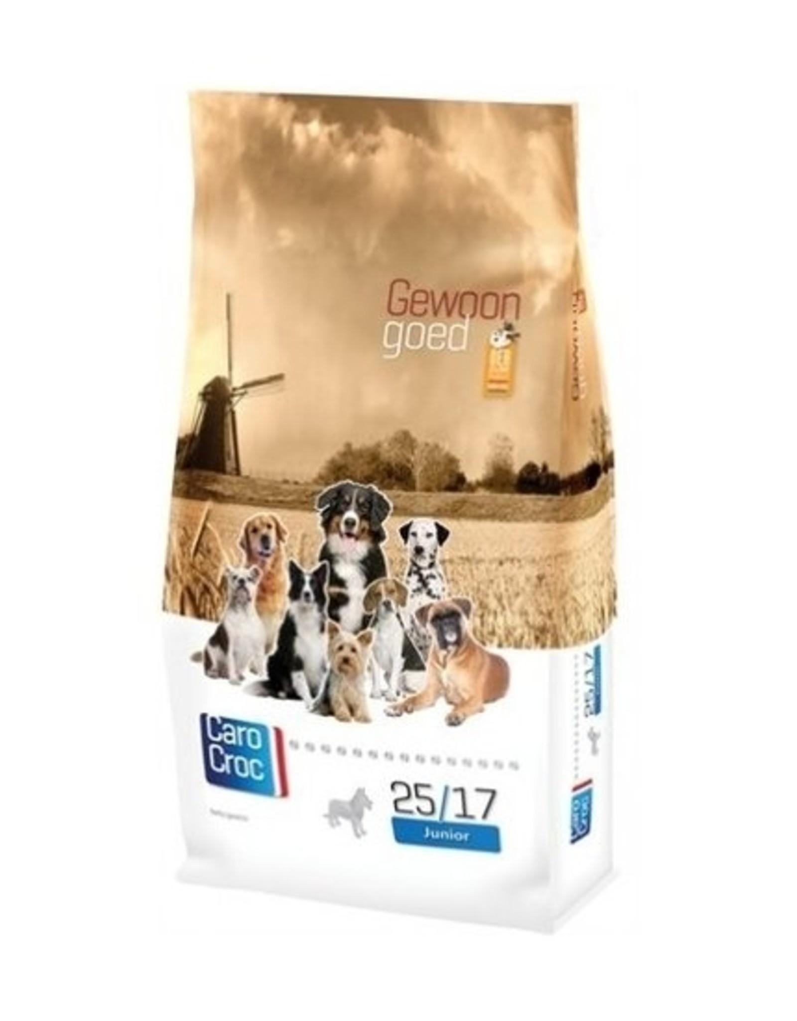 Sanimed Sanimed Carocroc Junior Hond 25/17 Chk Rice 15kg