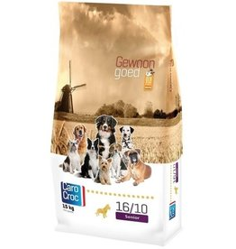 Sanimed Sanimed Carocroc Senior Hund 16/10 Lamm Reis 15kg