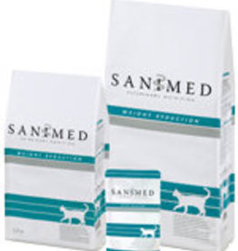Sanimed Sanimed Weight Reduction Katze 12x100gr