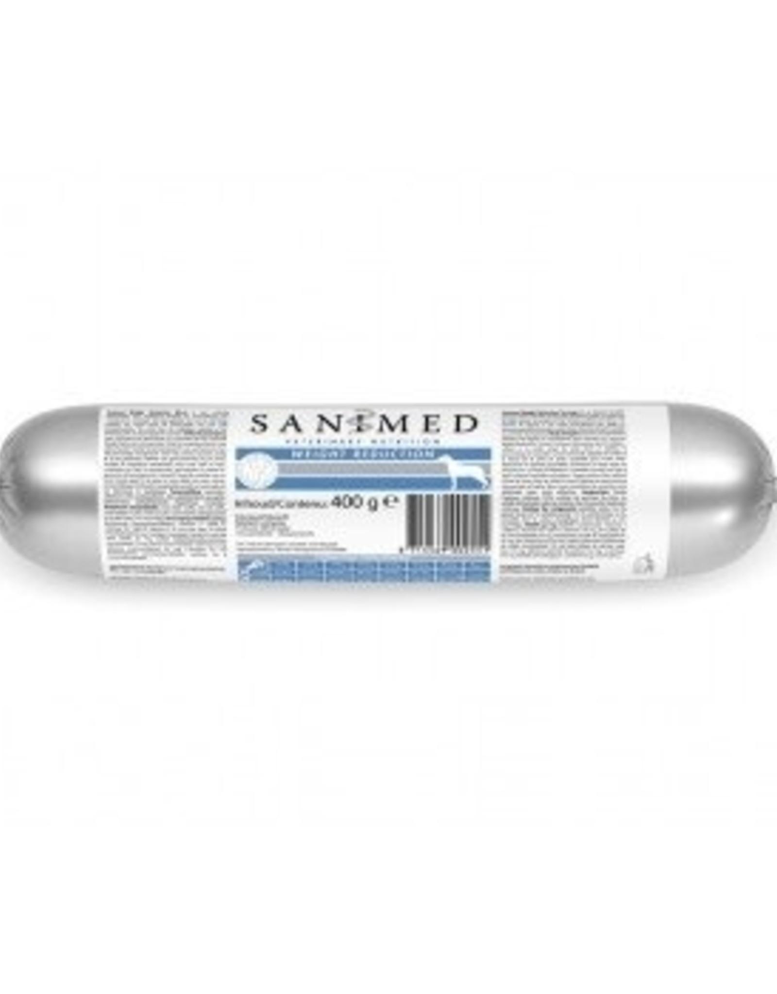 Sanimed Sanimed Worst Weight Reduction Hond 15x400gr
