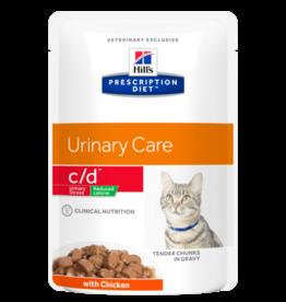 Hill's Hill's Prescription Diet C/d Multicare Cat Reduced Calorie (chicken) 12x85gr