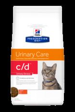 Hill's Hill's Prescription Diet C/d Urinary Stress Chat (poulet) 8 Kg