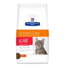 Hill's Hill's Prescription Diet C/d Urinary Stress Chat (poulet) 8 Kg