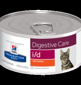 Hill's Hill's Prescription Diet I/d Kat (kip) 24x156gr
