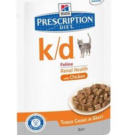 Hill's Hill's Prescription Diet K/d Kat (chicken) 12x85gr