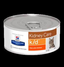 Hill's Hill's Prescription Diet K/d Cat (chicken) 24x156gr
