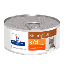 Hill's Hill's Prescription Diet K/d Kat (chicken) 24x156gr