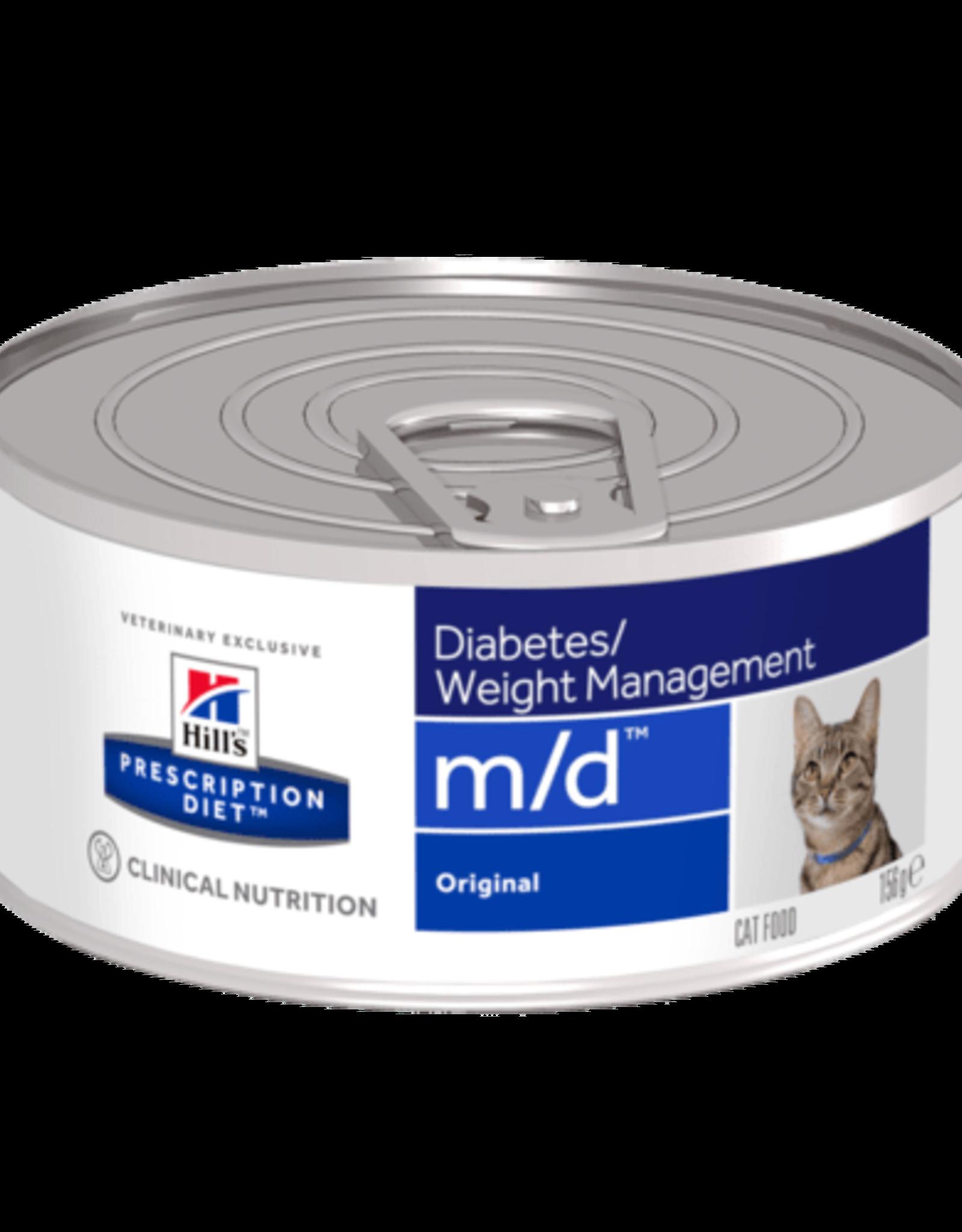 Hill's Hill's Prescription Diet M/d Cat 24x156gr