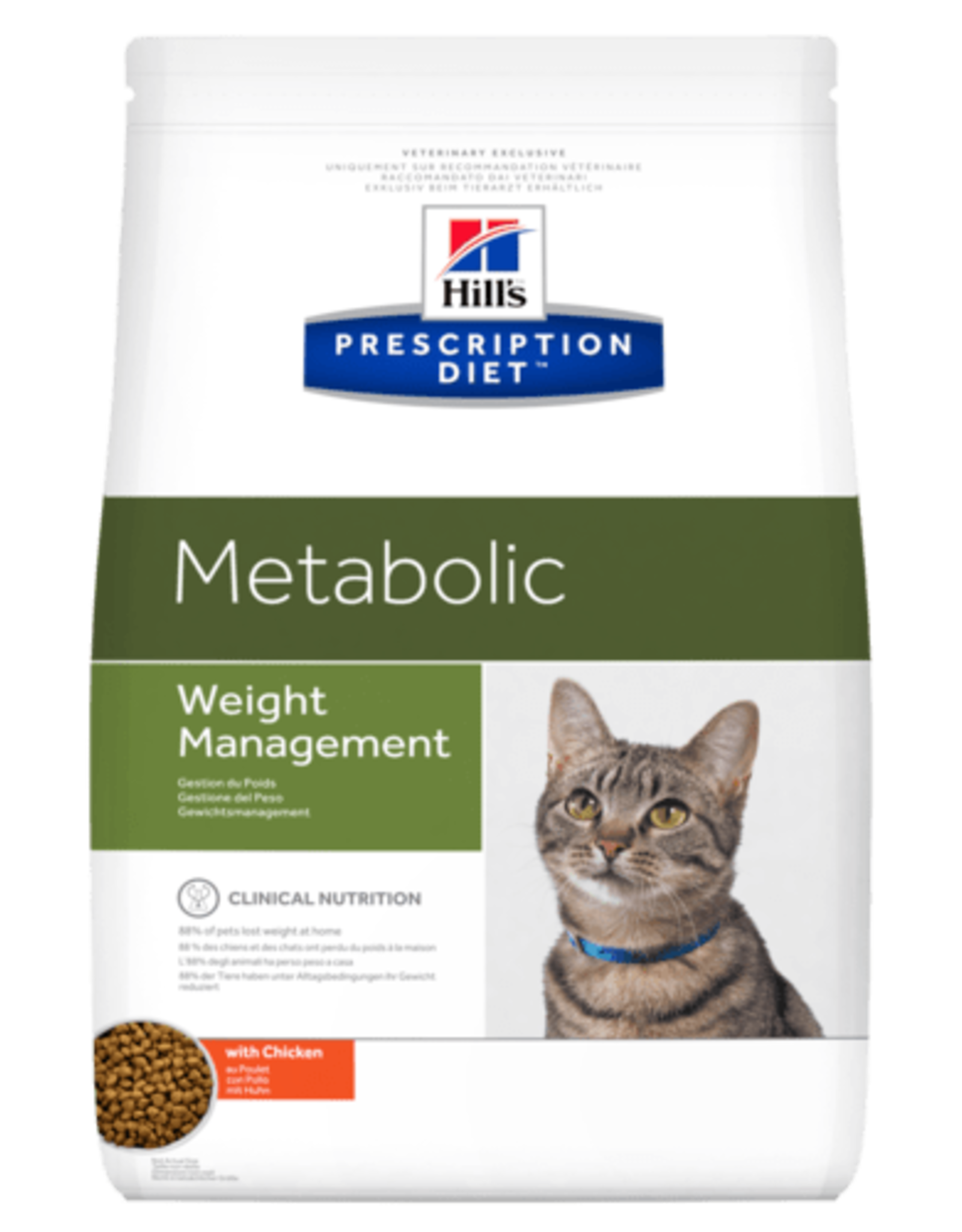 Hill's Hill's Prescription Diet Metabolic Weight Management Cat1,5kg