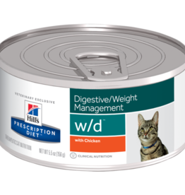Hill's Hill's Prescription Diet W/d Kat 24x156gr