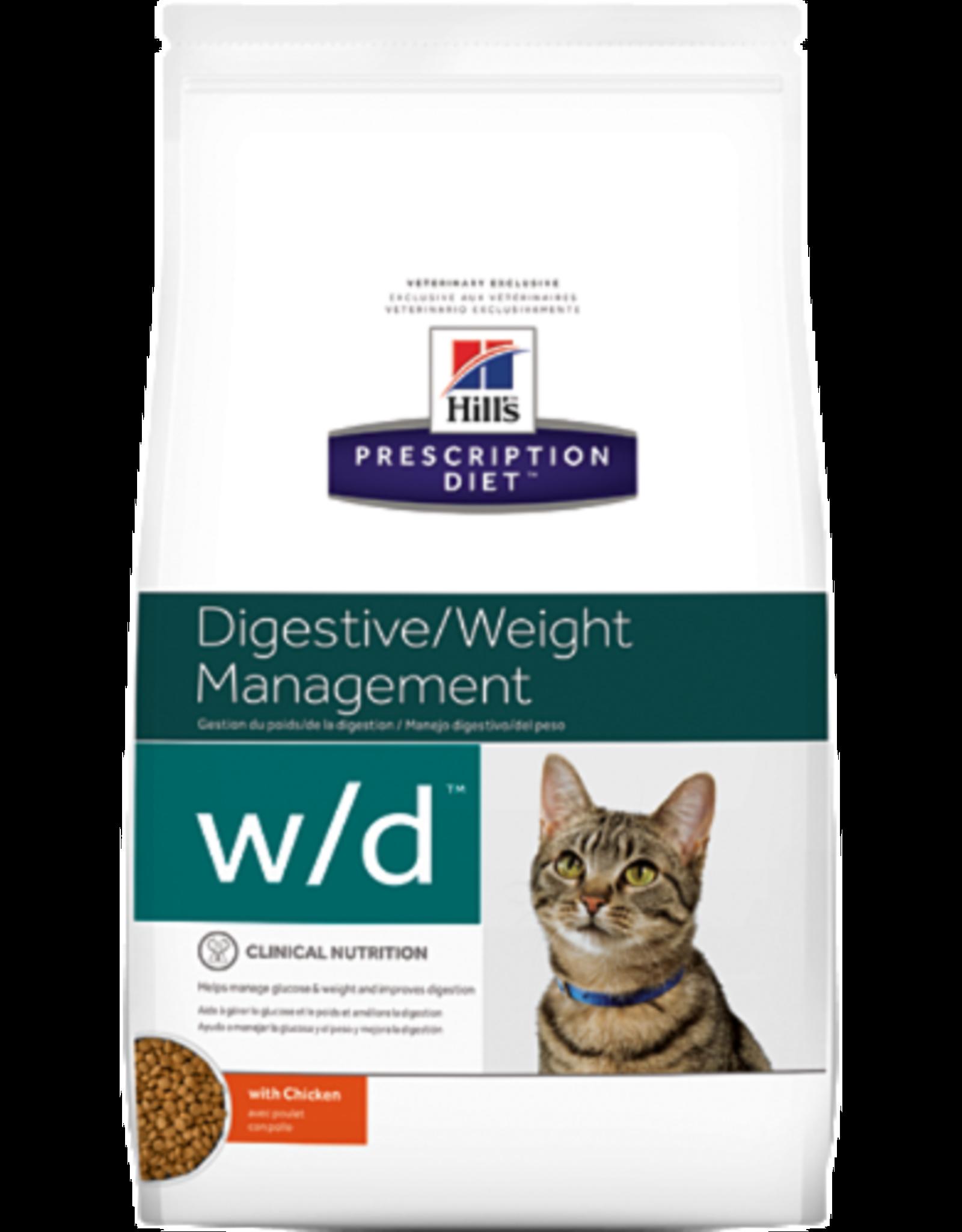 Hill's Hill's Prescription Diet W/d Kat 5 Kg