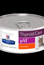 Hill's Hill's Prescription Diet Y/d Cat 24x156gr
