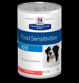 Hill's Hill's Prescription Diet D/d Hund (lachs) 12x370gr
