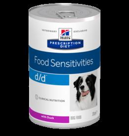 Hill's Hill's Prescription Diet D/d Dog (duck) 12x370gr
