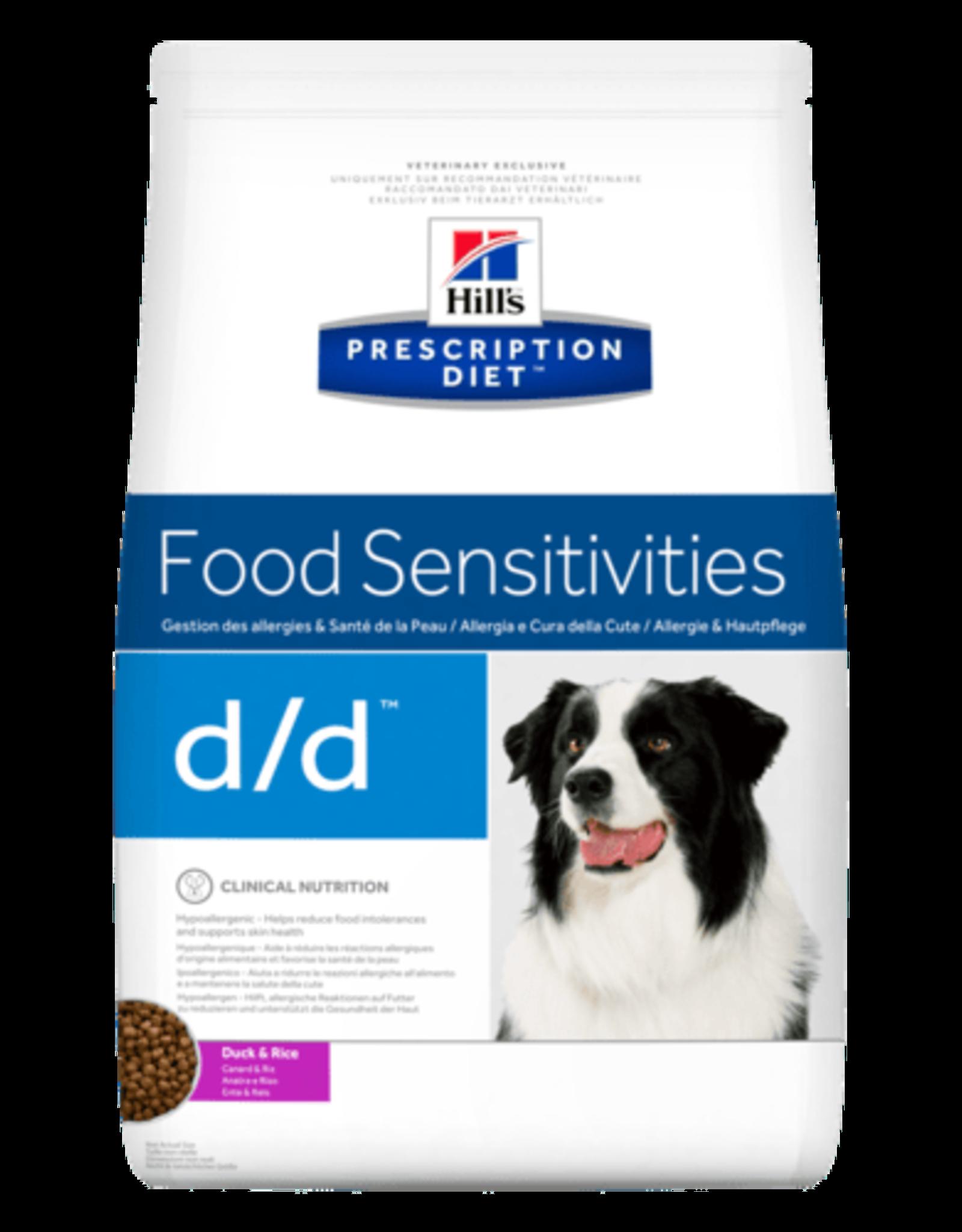 Hill's Hill's Prescription Diet D/d Dog (duck & Rice)  2kg
