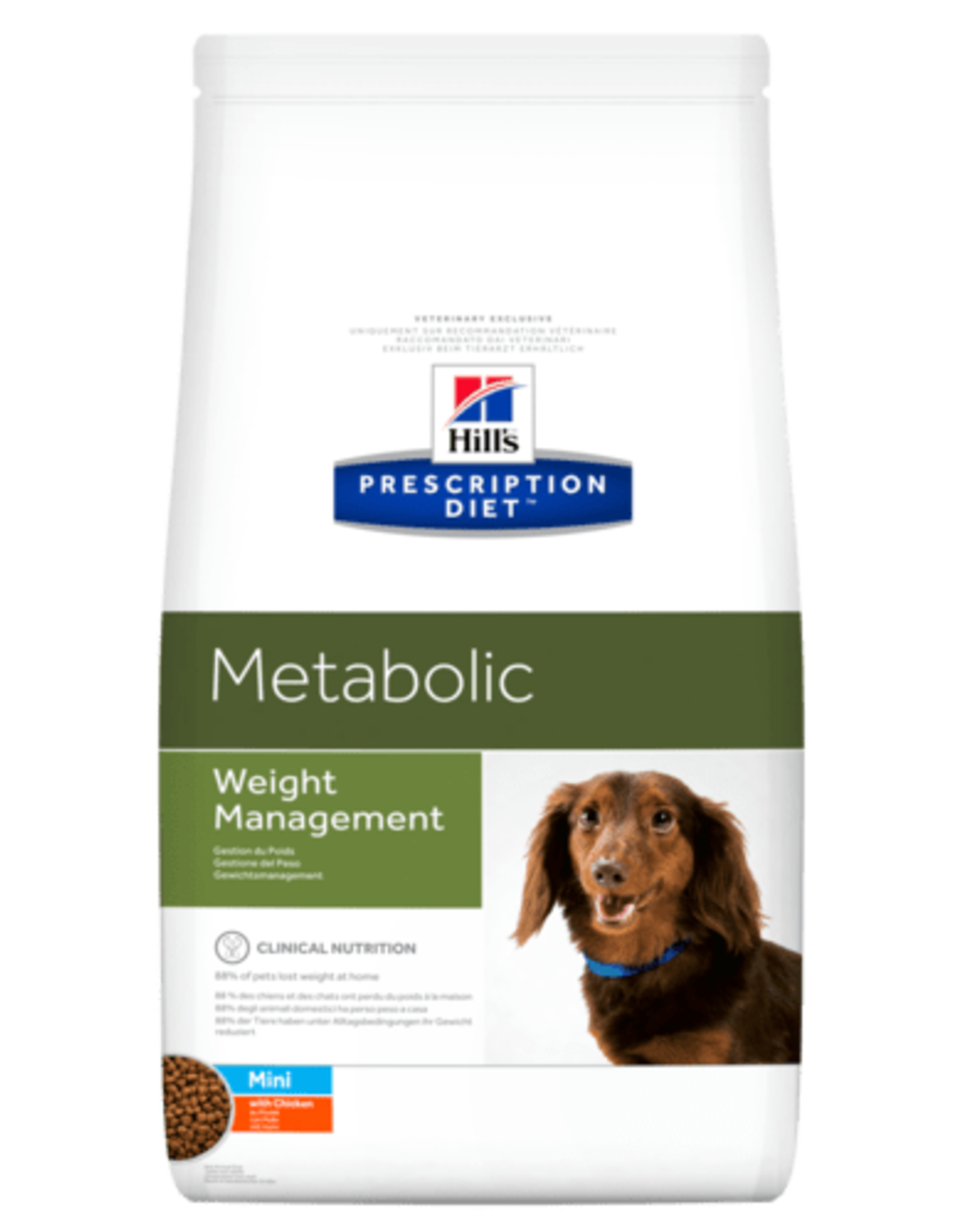 Hill's Hill's Prescription Diet Metabolic Weight Management Hond Mini 6kg