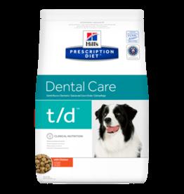 Hill's Hill's Prescription Diet T/d Dog 3kg