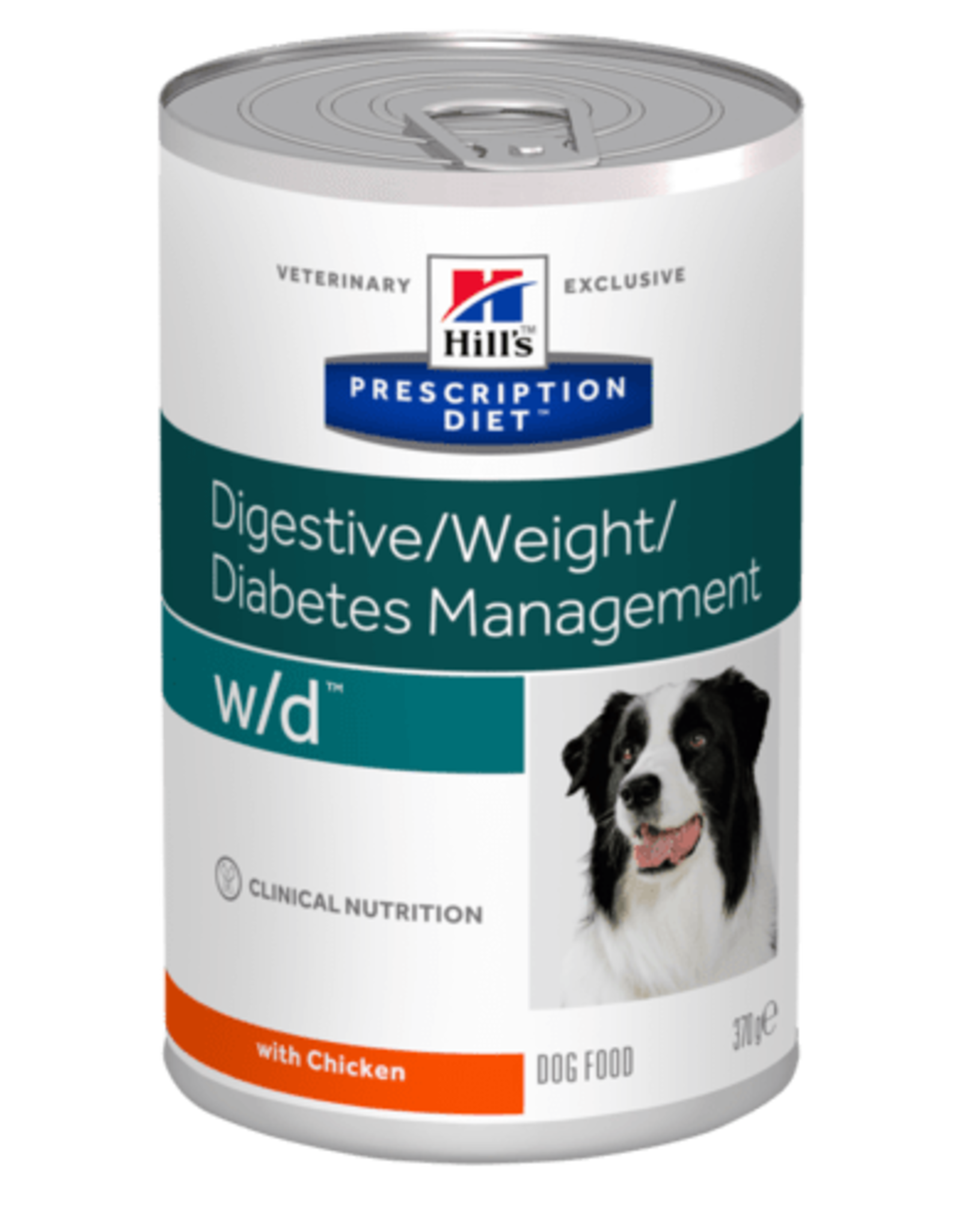 Hill's Hill's Prescription Diet W/d Dog 12x370gr