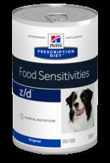 Hill's Hill's Prescription Diet Z/d Ultra Allergen-free Chien 12x370gr