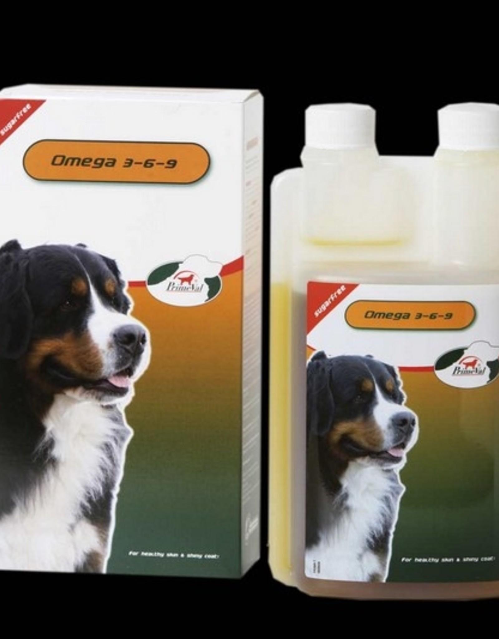 Primeval Hund Omega 3-6-9 500ml