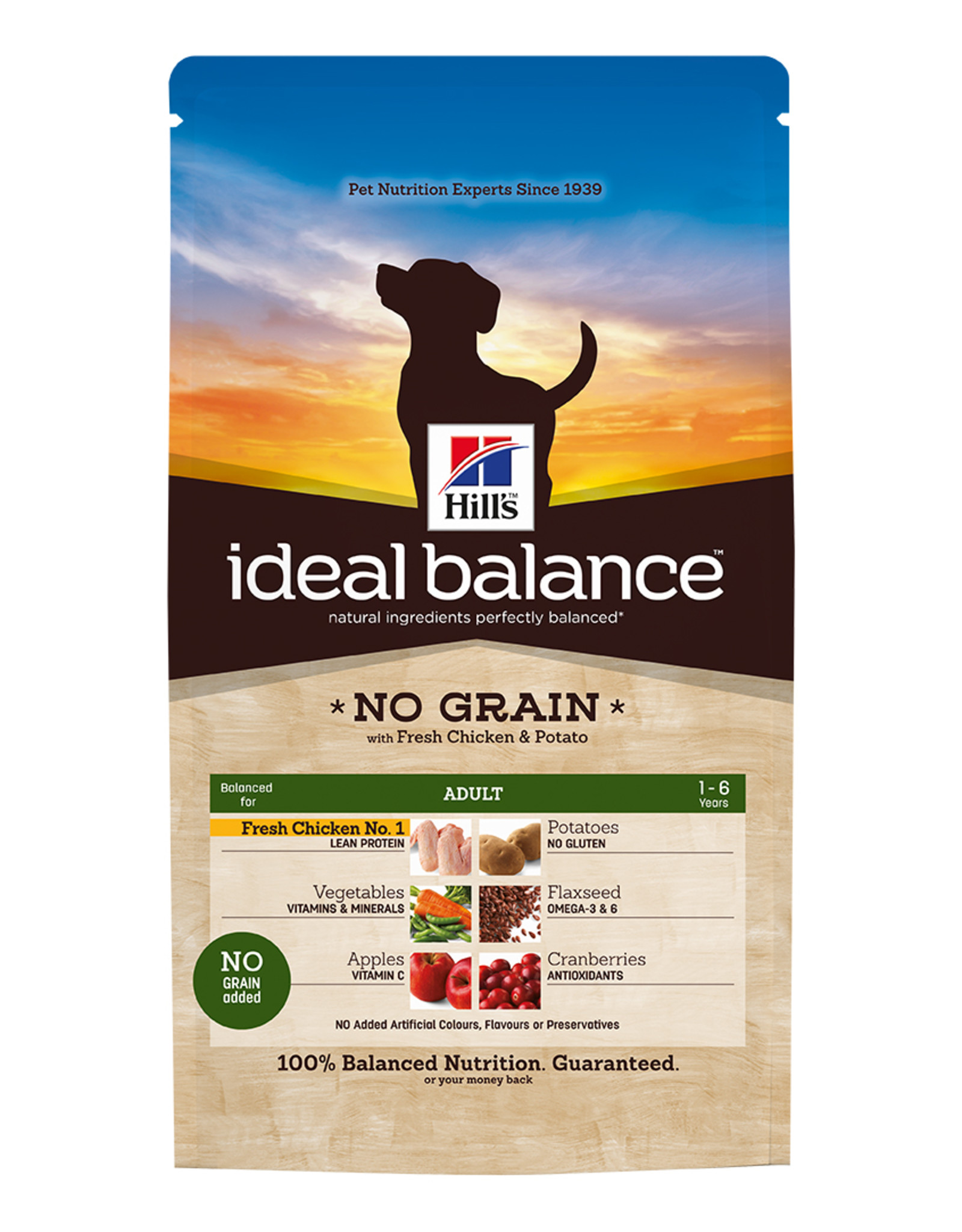 Hill's Hill's Ideal Balance Hond Adult No Grain 2 Kg