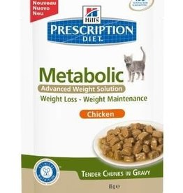 Hill's Hills Metabolic Pouch Kat 12x85 Gr