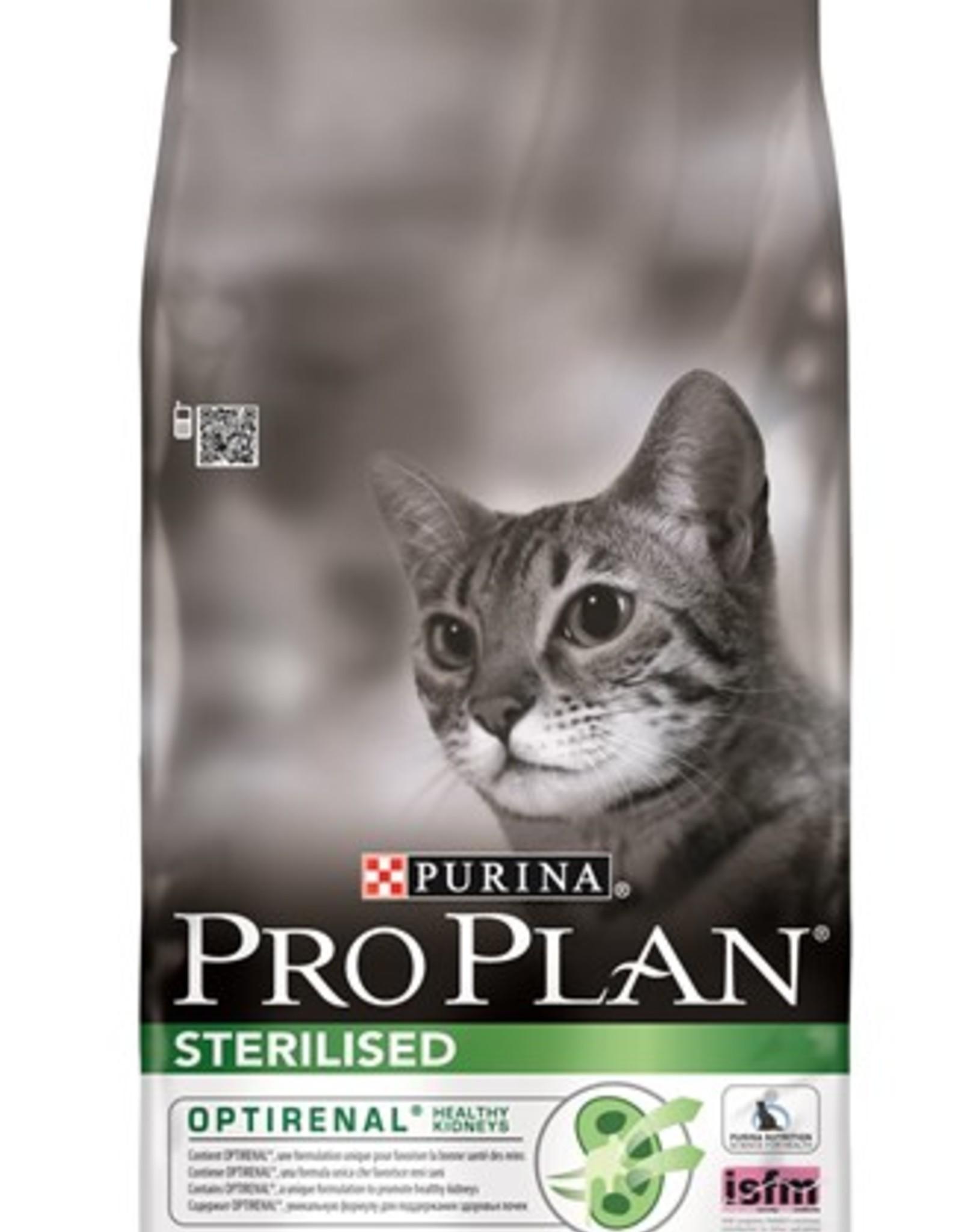 Pro Plan Adult Kat Salmon Rice Sterilised 10kg