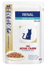 Royal Canin Royal Canin Veterinary Diet Renal Wet Kat 48x85g Tonijn Zakjes