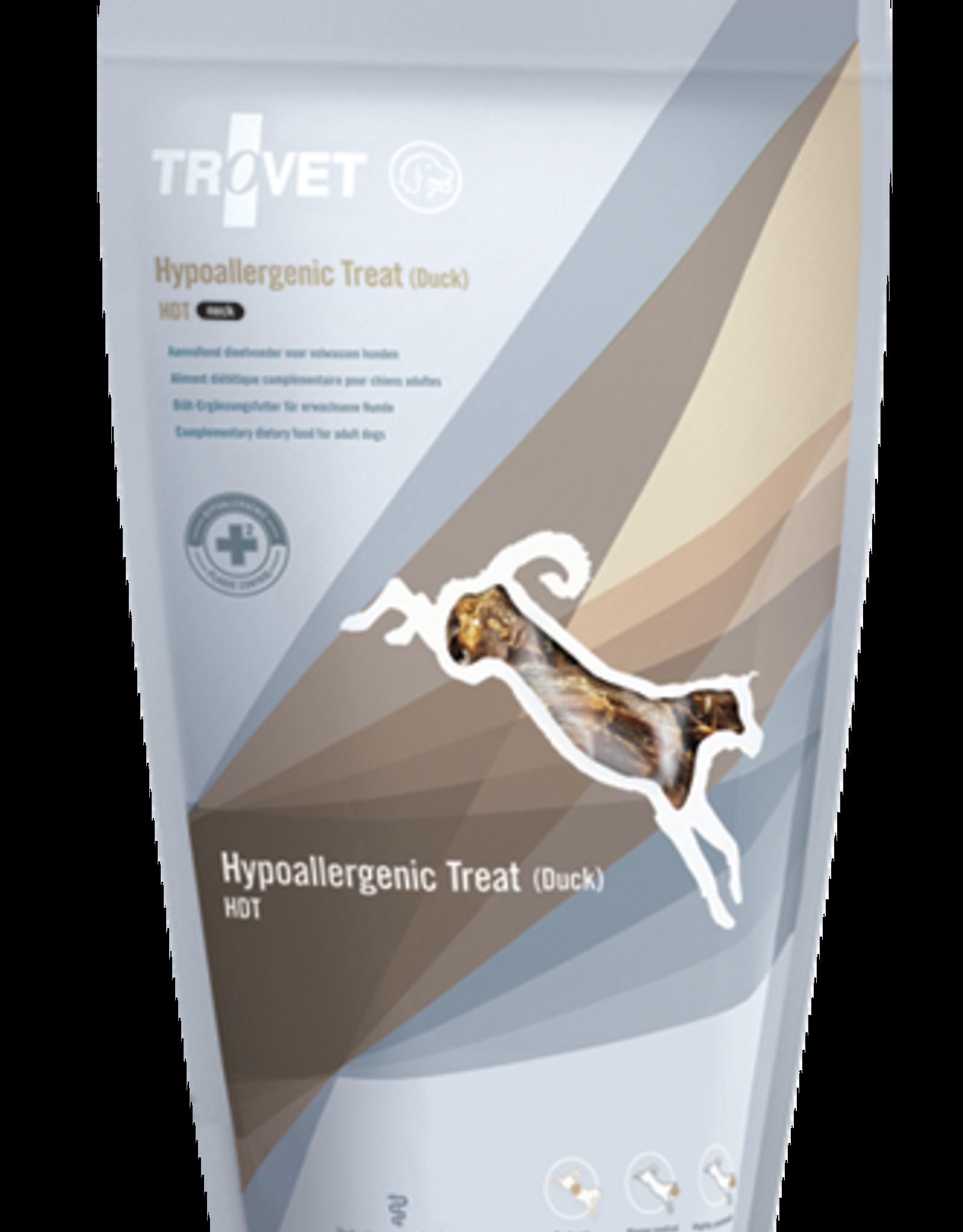 Trovet Trovet Canine Hdt Hypoallergenic Treat Duck Neck 200g