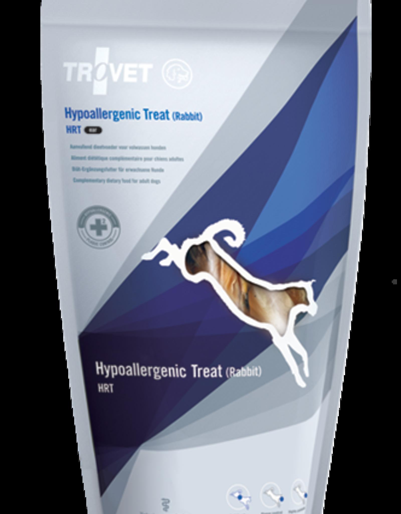 Trovet Trovet Canine Hrt Hypoallergenic Treat Rabbit Ear 100g