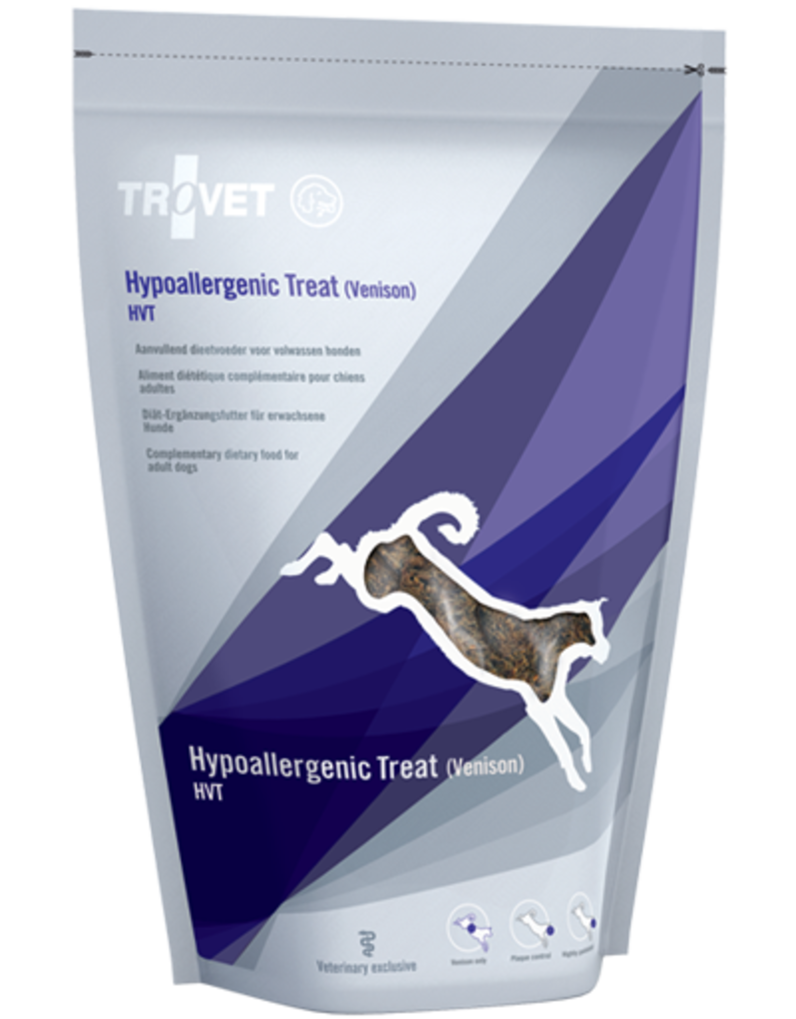 Trovet Trovet Canine Hvt Hypoallergenic Treat Venison 250g