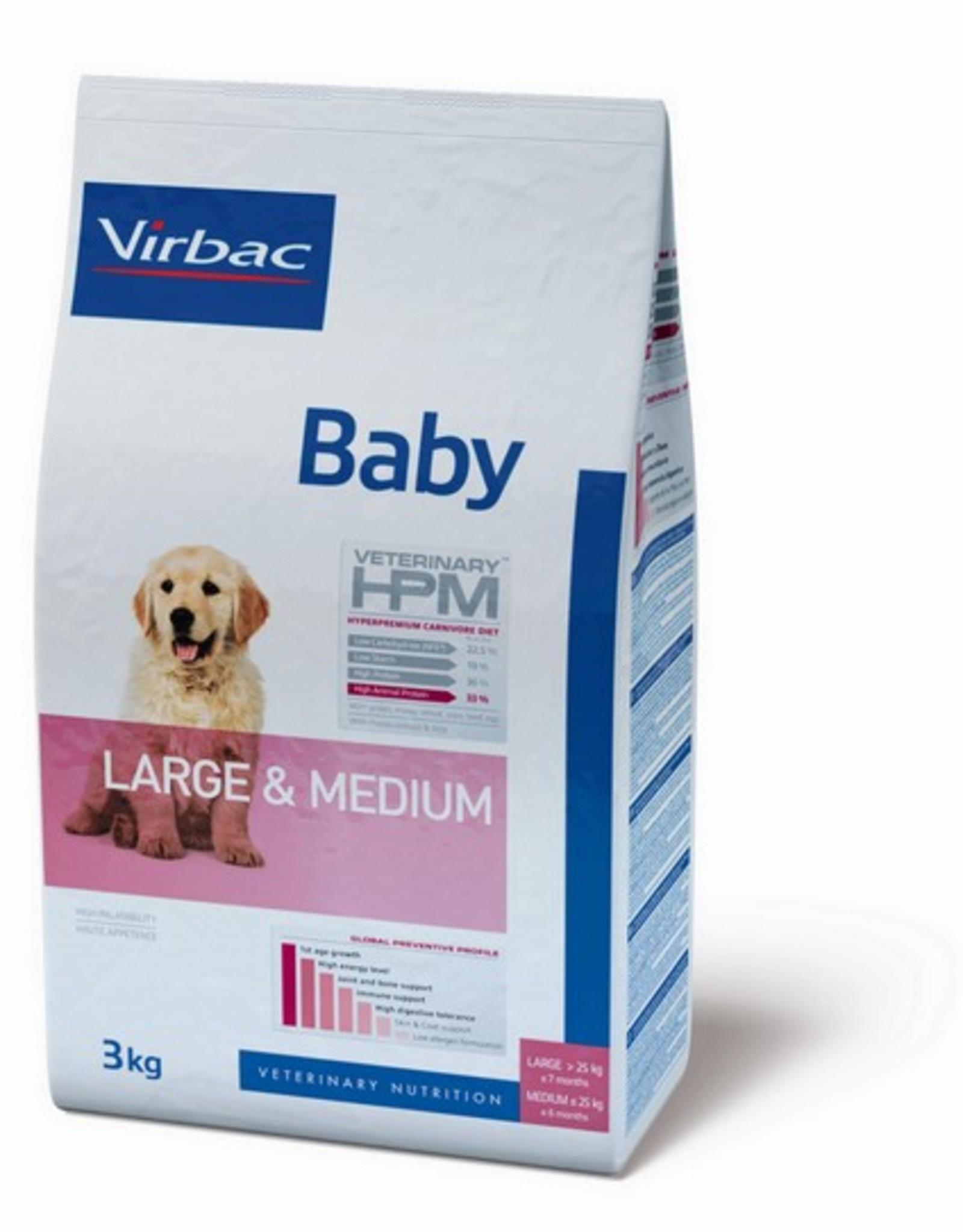 Virbac Virbac Hpm Hond Baby Large/medium Breed 3kg