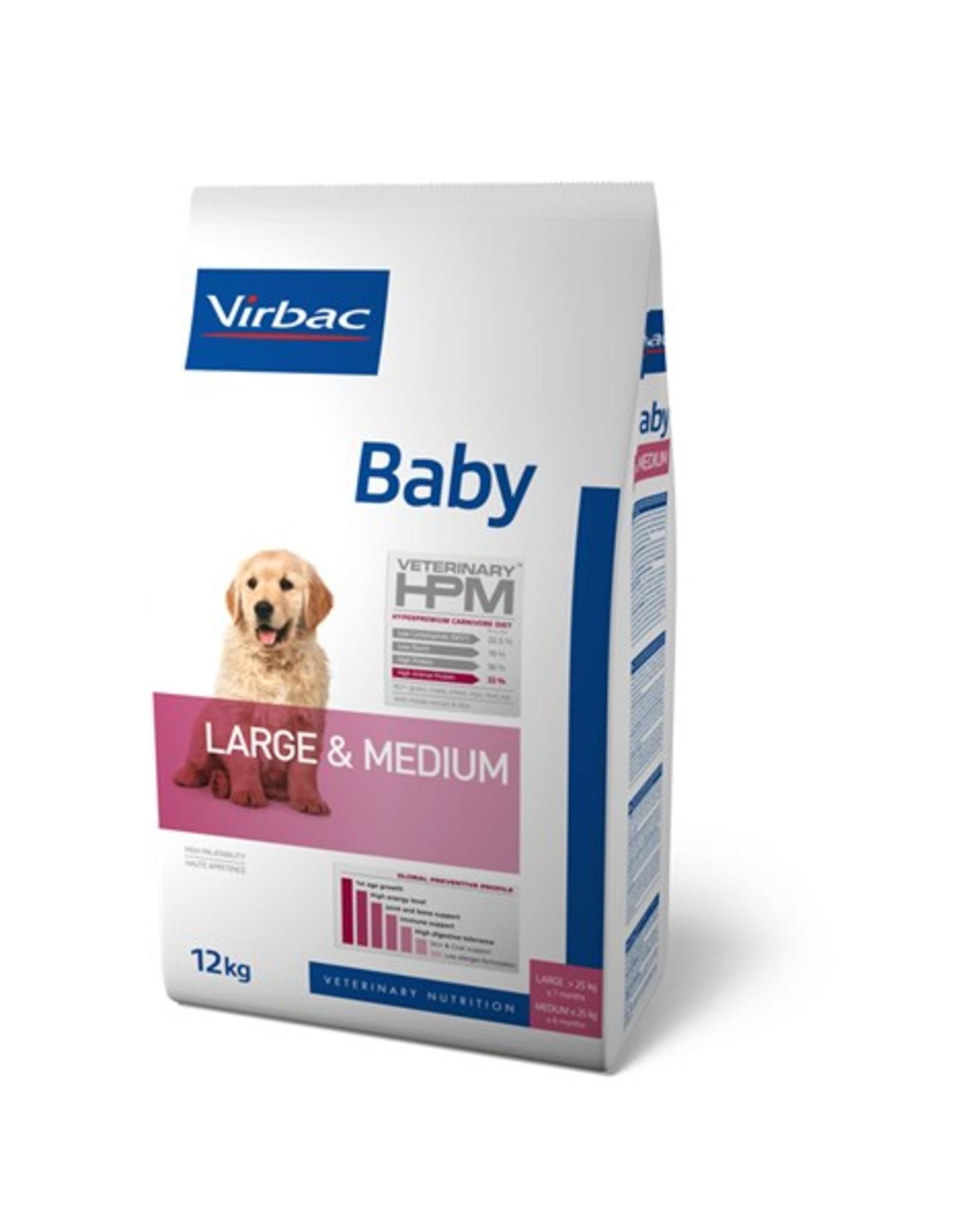 Virbac Virbac Hpm Chien Baby Large/medium Breed 12kg