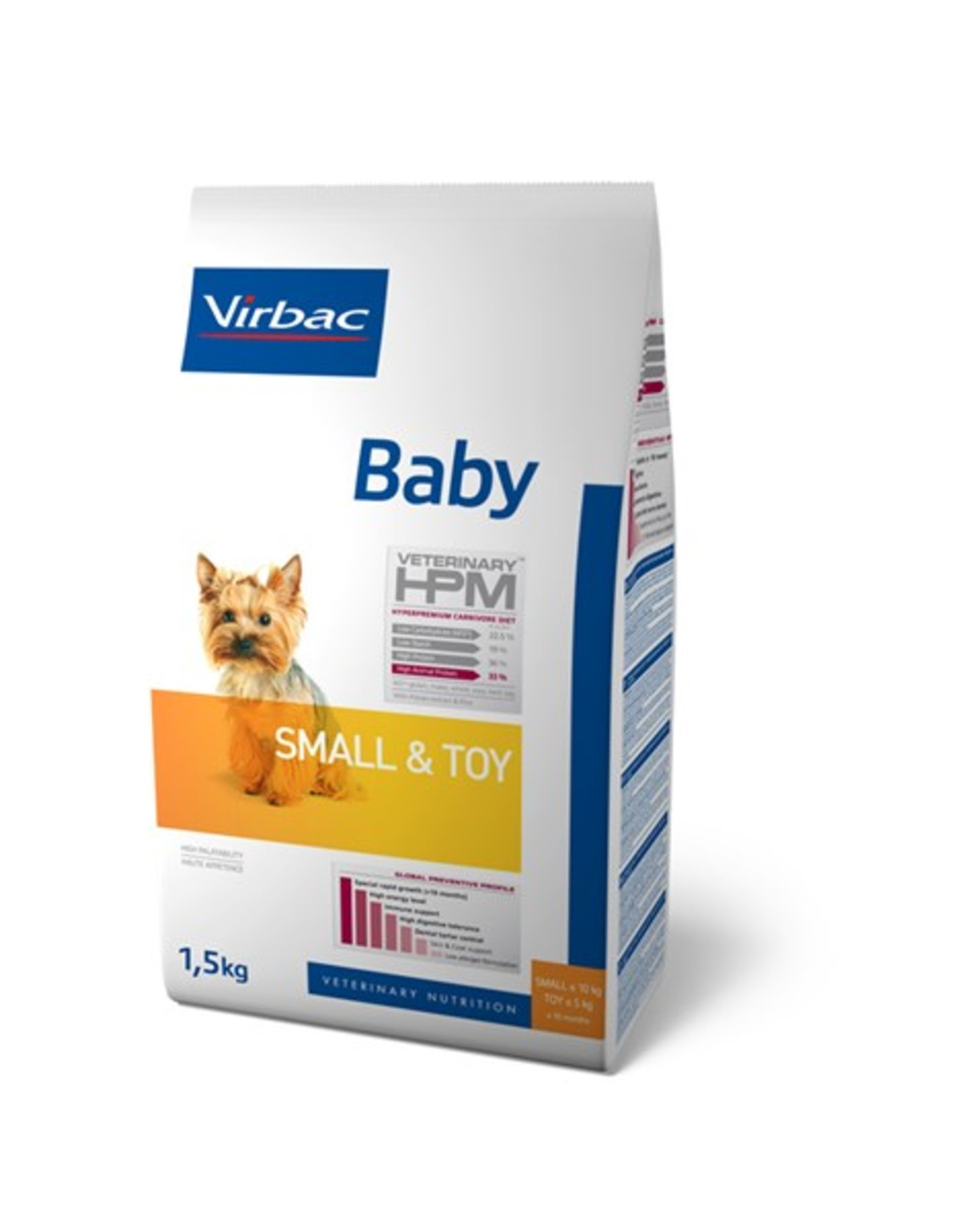 Virbac Virbac Hpm Chien Baby Small Breed/toy 3kg