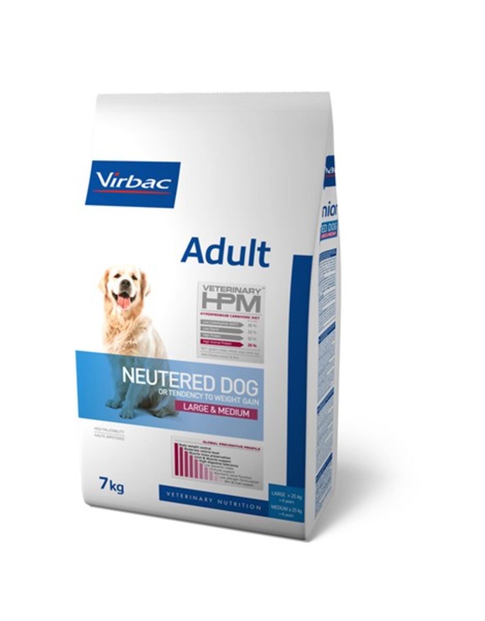 Virbac Virbac Hpm Hond Neutered Adult Large/medium Breed 7kg