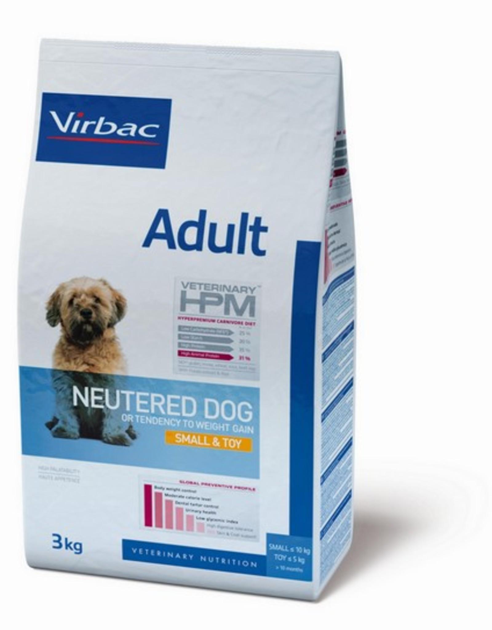 Virbac Virbac Hpm Hond Neutered Adult Small Breed/toy 1,5kg