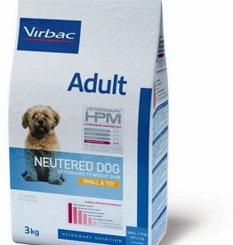 Virbac Virbac Hpm Chien Neutered Adult Small Breed/toy 1,5kg