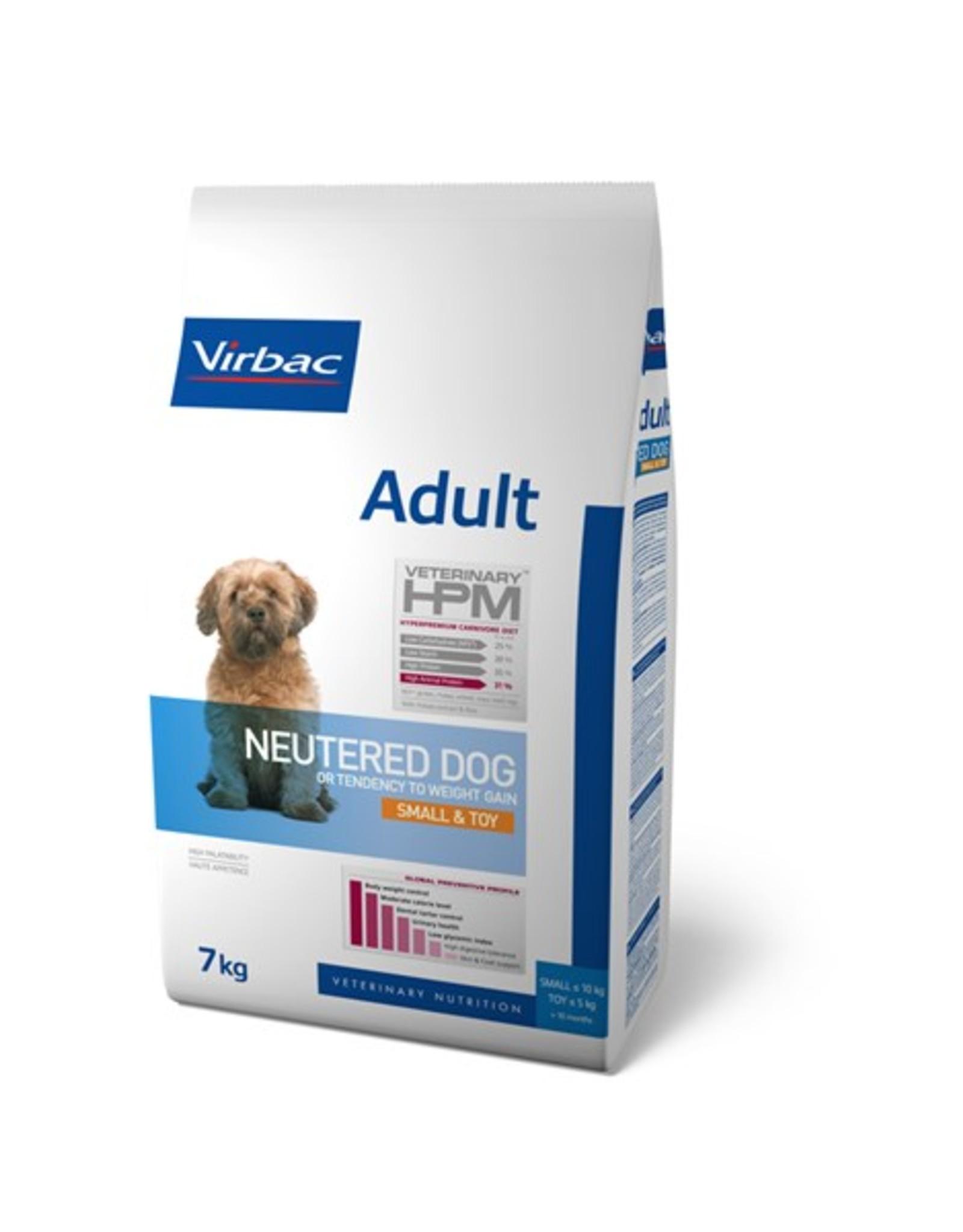 Virbac Virbac Hpm Hond Neutered Adult Small Breed/toy 7kg